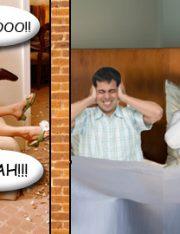 Not Your Ordinary Noisy Neighbors
