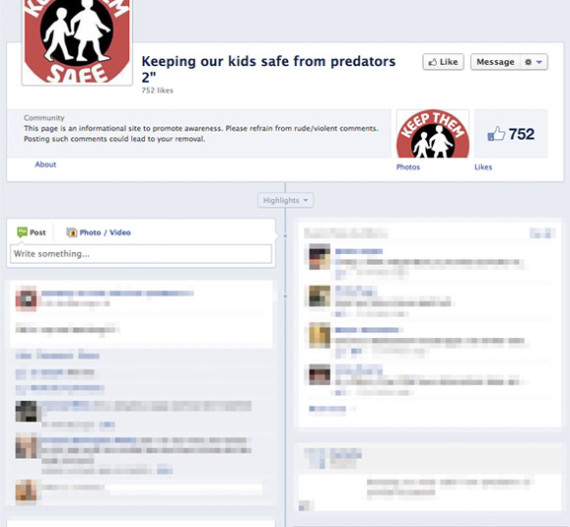keeping our kids safe from predators facebook