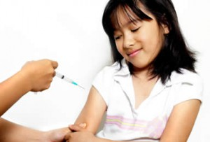 Child Diabetes Insulin Shot