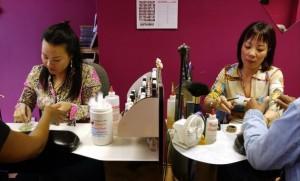 nail salon new york