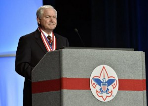 robert gates boy scouts gay rights