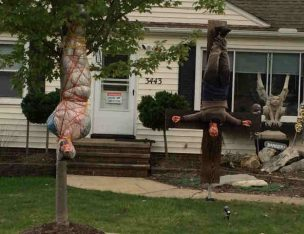 When Are Halloween Displays Too Scary?