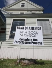Shaming Banks to Quicken the Foreclosure Process