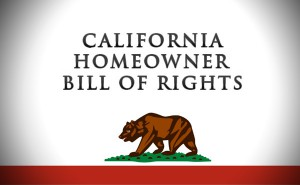 California Homeowner Bill of Rights