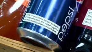 Soda Warning