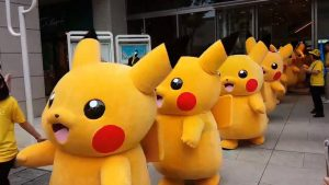March of the Pikachu