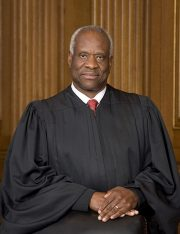 Justice Thomas Questions Why Federal District Courts Can Halt an Executive Order