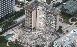 Miami Champlain Tower Building Collapse